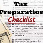 Top Hat Tax & Financial Services's 2017 Tax Preparation Checklist